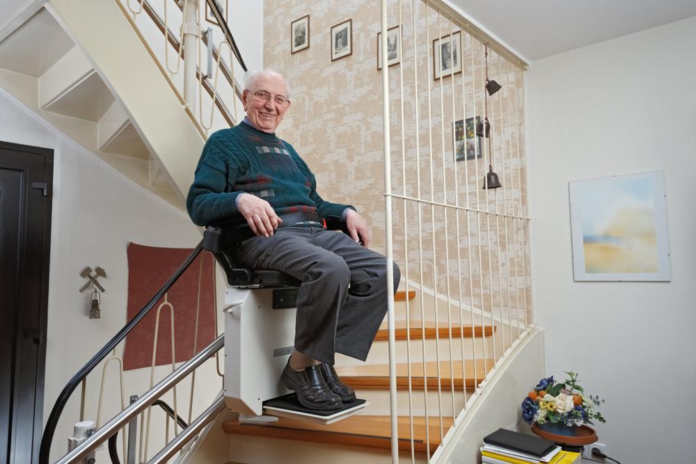 Monte escalier
